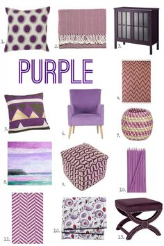 For the Love of Color: Purple