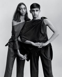 Nora Attal & Nader Chaudhry by Jamie Hawkesworth for T Style Magazine, October 2014