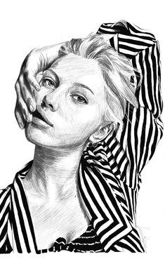 Digital Art by Lena Kulaç Digital Art, Sketches, Draw, Doodles, Sketch, Sketchbook Drawings, Tekenen, Drawing Reference