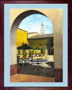 Coatepec Veracruz acuarela watercolor