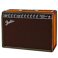 Amazon.com: Fender '65 Deluxe Reverb 3-Tone Ash Sunburst Limited Edition Combo Amp: Musical Instruments