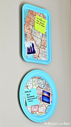 Magnet boards::Trays+Map Paper