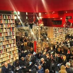 """""""""""If you go Home with somebody And they don't have books, don't fuck'em"""" (John Waters) This caption is in Sonia Rykiel press release. And maybe this is why they have trasformed Rykiel boutique in Saint Germain into a bookshop for one year #pfw #soniarykiel"""" by marchettisimone"""