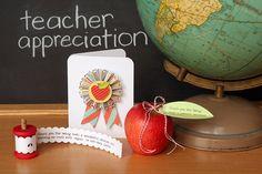 several ideas for teacher appreciation