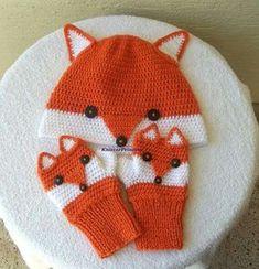 Fox gloves adult size fox mittens own design fox fingerless gloves women crochet animal gloves gift for her gift for him gift for bff Crochet Fox, Crochet Gloves, Crochet Animals, Knitted Hats, Knitting Patterns, Crochet Patterns, Fox Hat, Fox Scarf, Fox Pattern