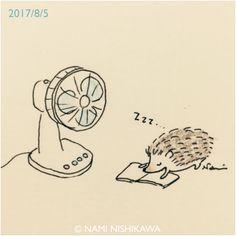 1246 夏のお昼寝 Nap time
