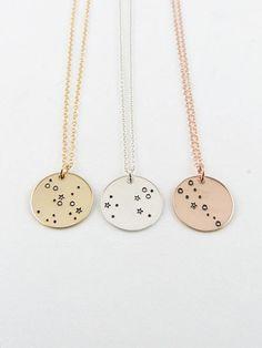 Zodiac Jewelry Constellation Necklace Birthday Gift 12