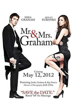 Must Do for Save the Date announcements! Mr & Mrs Smith! Perfect!