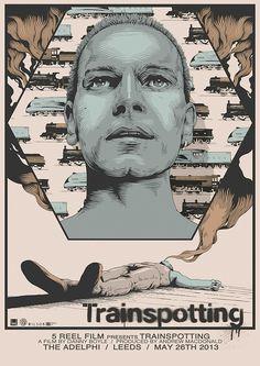 Trainspotting - movie poster - fan art by Joe Wilson at reelizer.com