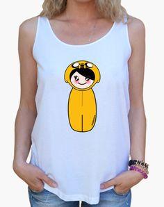 Camiseta Kokeshi Jake - nº 260100 - Camisetas latostadora