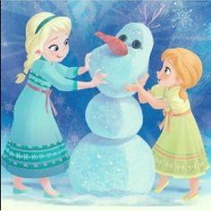 Frozen! Elsa and Anna