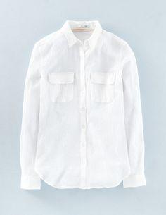 Crinkle Cotton Shirt