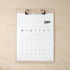 planning | 3 printable calendar