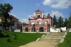 Salla terena, castle Klášterec nad Ohří, Czech republic