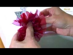Easy DIY Rosettes with Evy Hawkins on the Baby Lock Sashiko - YouTube