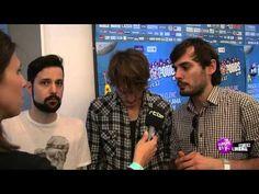 Puggy en interview aux Francofolies de Spa 2013 avec Classic 21