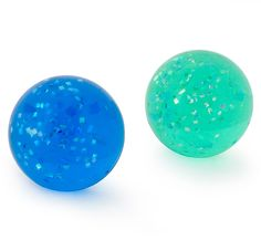 """Glitter Bounce Balls Includes: (4) glitter 1½"""" bounce balls in assorted colors. Our choice please. Weight (lbs) 1 Length (inches) 10 Width (inches) 10 Height(inches) 5"""