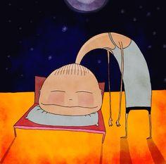 Feeling asleep