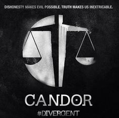 Candor faction symbol from the 'Divergent' film