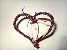 Srdce pletené z bužírek- dá se používat jako spona na šátek závěsná ozdoba nebo brož Cat Eye, Eyes, Glasses, Jewelry, Eyewear, Eyeglasses, Jewlery, Bijoux, Schmuck