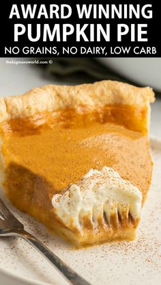 Sugar Free Desserts, Low Carb Desserts, Healthy Desserts, Low Carb Recipes, Keto Pumpkin Pie, Pumpkin Pie Recipes, Eggless Pumpkin Pie Recipe, Sugar Free Pumpkin Pie, Keto Dessert Easy