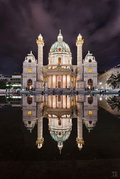 Photograph Vienna @night by Thomas Buchmann on 500px