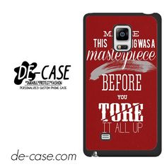 Taylor Swift Lyric DEAL-10539 Samsung Phonecase Cover For Samsung Galaxy Note Edge