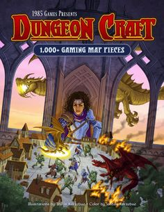 Dungeon Craft Volume 1 In 2020 Game Presents Leaf Book Dragon