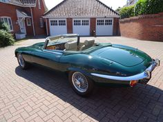 1973 Jaguar E-Type Series III V12 Roadster Manual - Classic Car Auctions