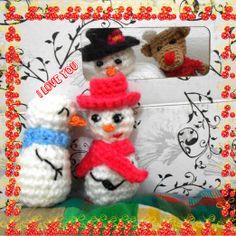 #Love #Natal #Amigurumi