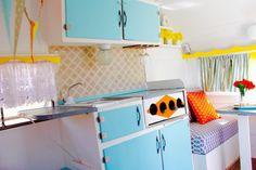 caravan bright colors