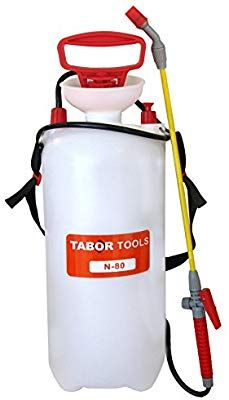 Amazon Com Tabor Tools Lawn And Garden Pump Pressure Sprayer For Herbicides Fertilizers Mild Cleaning Solutions And Bleach Includes Shoulder Strap N 80 Trong 2020