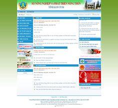 Website Nông Nghiệp Và Phát Triển Nông Thôn Tỉnh Kon Tum - Thiết kế web http://cnm.com.vn