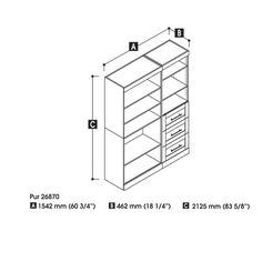 """Pur 18.2"""" Deep Classic Storage Unit Kit   Joss & Main"""