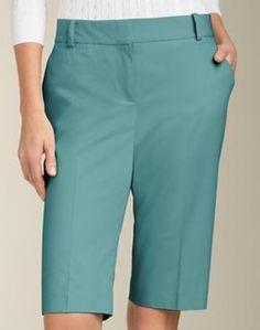 "Talbots - 11"" Shorts - Aquamarine"