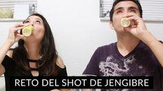 Reto Shot de Jengibre con Picante Cayena | LynSireEspañol  #vegana #veganos #reto #jengibre #gracioso