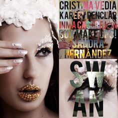 """Shooting """"Fashion Animals"""" 27 de Septiembre de 2015; Fotografía: Gema Muños Jandra; Mua: Sux make ups!; Nails: Neo Beauty; Vestido: Inma Castrejon;"""