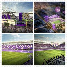New Orlando City SC Stadium... GO CITY!!!