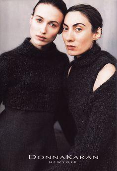 Woman to Woman. Donna Karan f/w 1998
