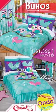 Preciosos diseños con cojines incluidos doble vista.  #TodosSomosConcord 🦉💖 #Búhos Toddler Bed, Furniture, Home Decor, Wave, Happy, Toss Pillows, Manualidades, Child Bed, Decoration Home