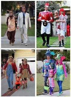 The Denisof  family celebrating Halloween || Totes adorbz