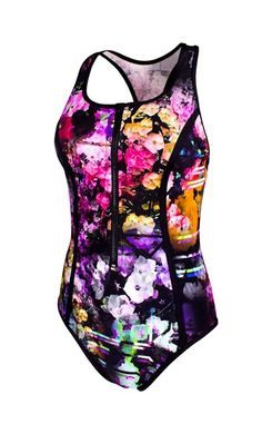 Floral Fusion - New - Paddle Board One Piece - Running Bare Australia PTY LTD