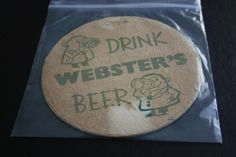 1960 Beermat Websters (Halifax) Cat 036 (2G95 10/14)