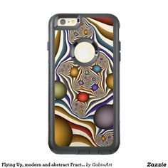 Flying Up, modern and abstract Fractal Art Pattern OtterBox iPhone 6/6s Plus Case