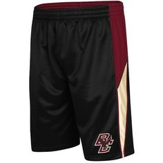 """Maybe the """"V"""" stands for versatile, because these men's Colosseum Boston College Eagles basketball shorts are perfect for working out, hanging out, playing hoops or sitting in class. Featuring an official team logo applique. Product Features Colorblock pattern with piping Drawstring elastic waistband 2-pocket Fabric & Care Polyester Machine wash Imported"""