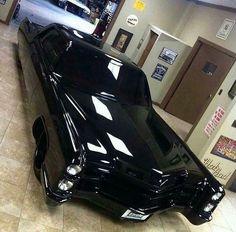 Glossy Black Eldorado Cadillac