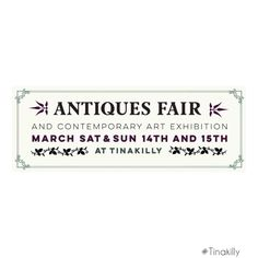 Mark your diary Country House Hotels, Antique Fairs, Instagram Accounts, Contemporary Art, Antiques, Antiquities, Contemporary Artwork, Modern Art, Antique