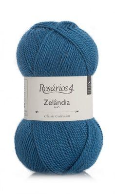 Zelândia Fino: 50% Wool/Lã, 50% Acrylic/Acrílico