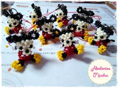 Abalorios Mincha: Mickey and Minnie