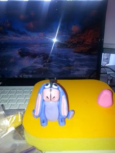 Eeyore made out of Fondant